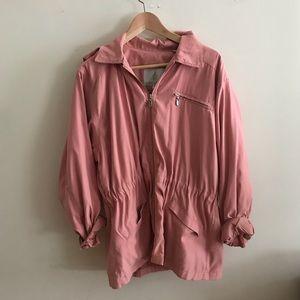 Vintage blush London fog spring jacket